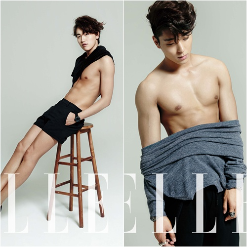 jonghun @ ELLE 04