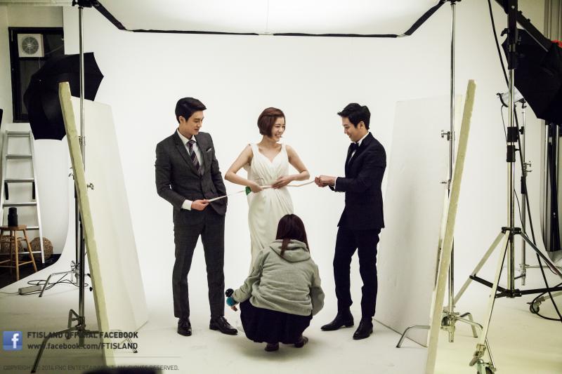 040214 - hongki @ photoshoot 100 year bride 02