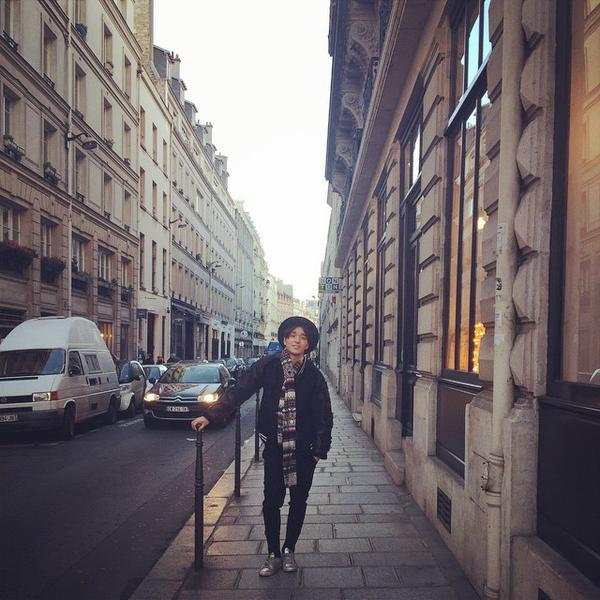 140115 jonghun instagram paris 1