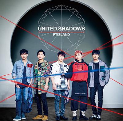 ftisland united shadows album japon edition normale