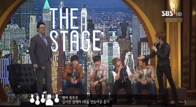 the big stage pleasure ftisland