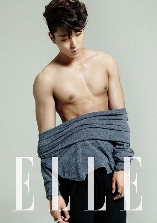 jonghun @ ELLE 01