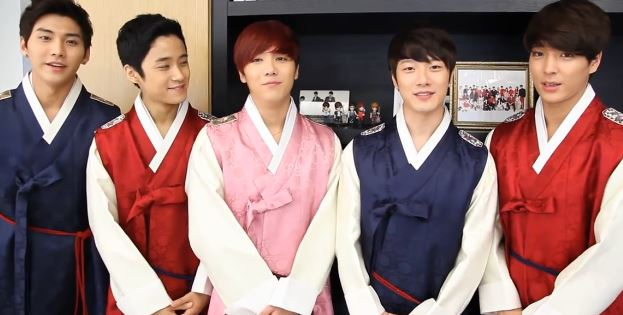 video trad FT Island Chuseok message
