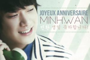 Projet SMILE Joyeux Anniversaire Minhwan