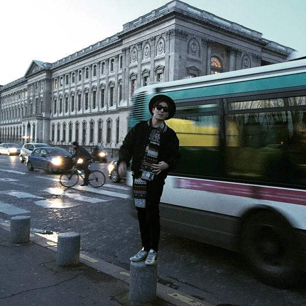 140115 jonghun instagram paris 2