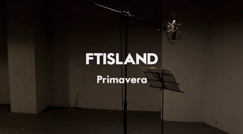 news video ftisland 5 go primavera music video