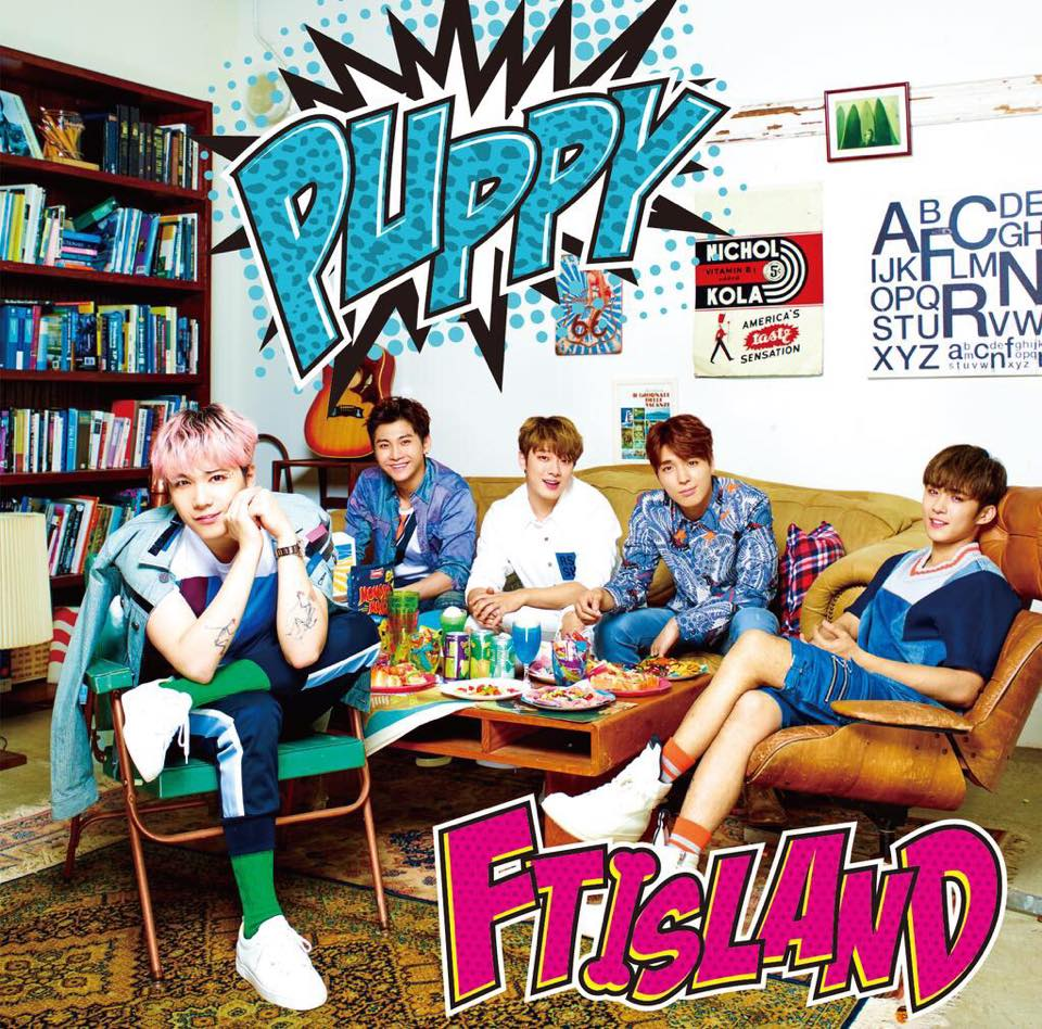 FTISLAND SINGLE JAPAN PUPPY C