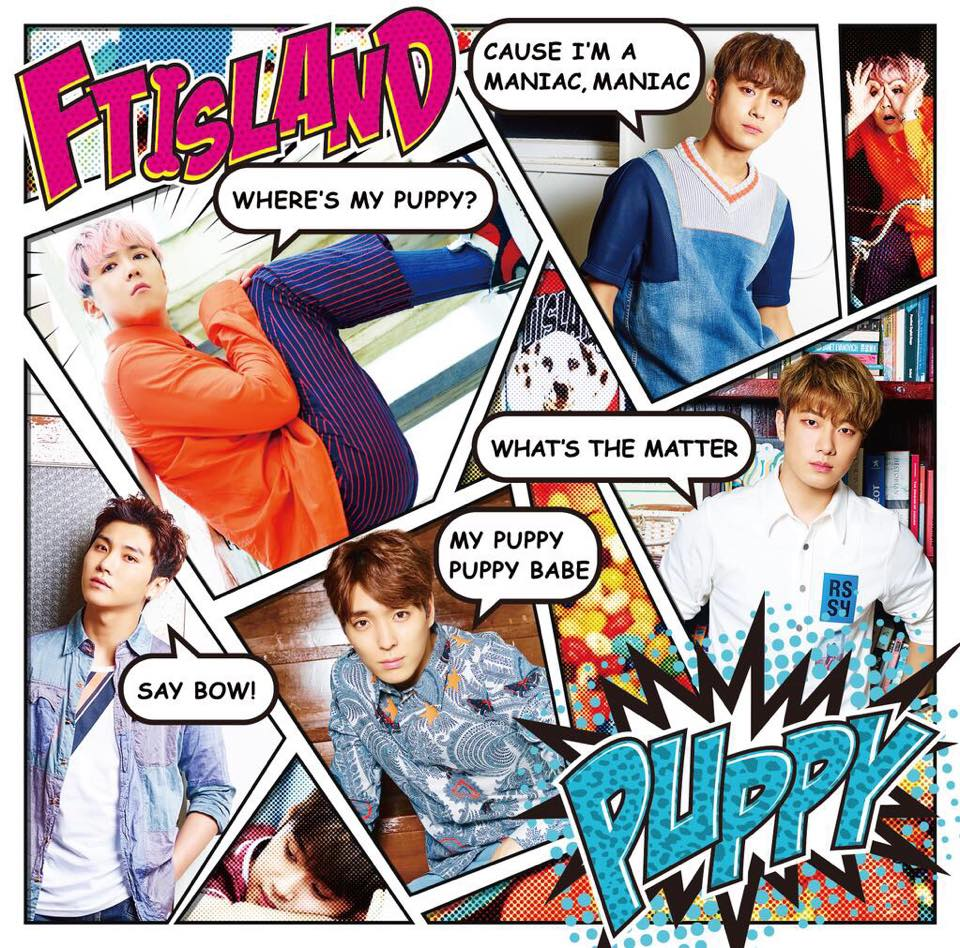 FTISLAND SINGLE JAPAN PUPPY PRIMADONNA