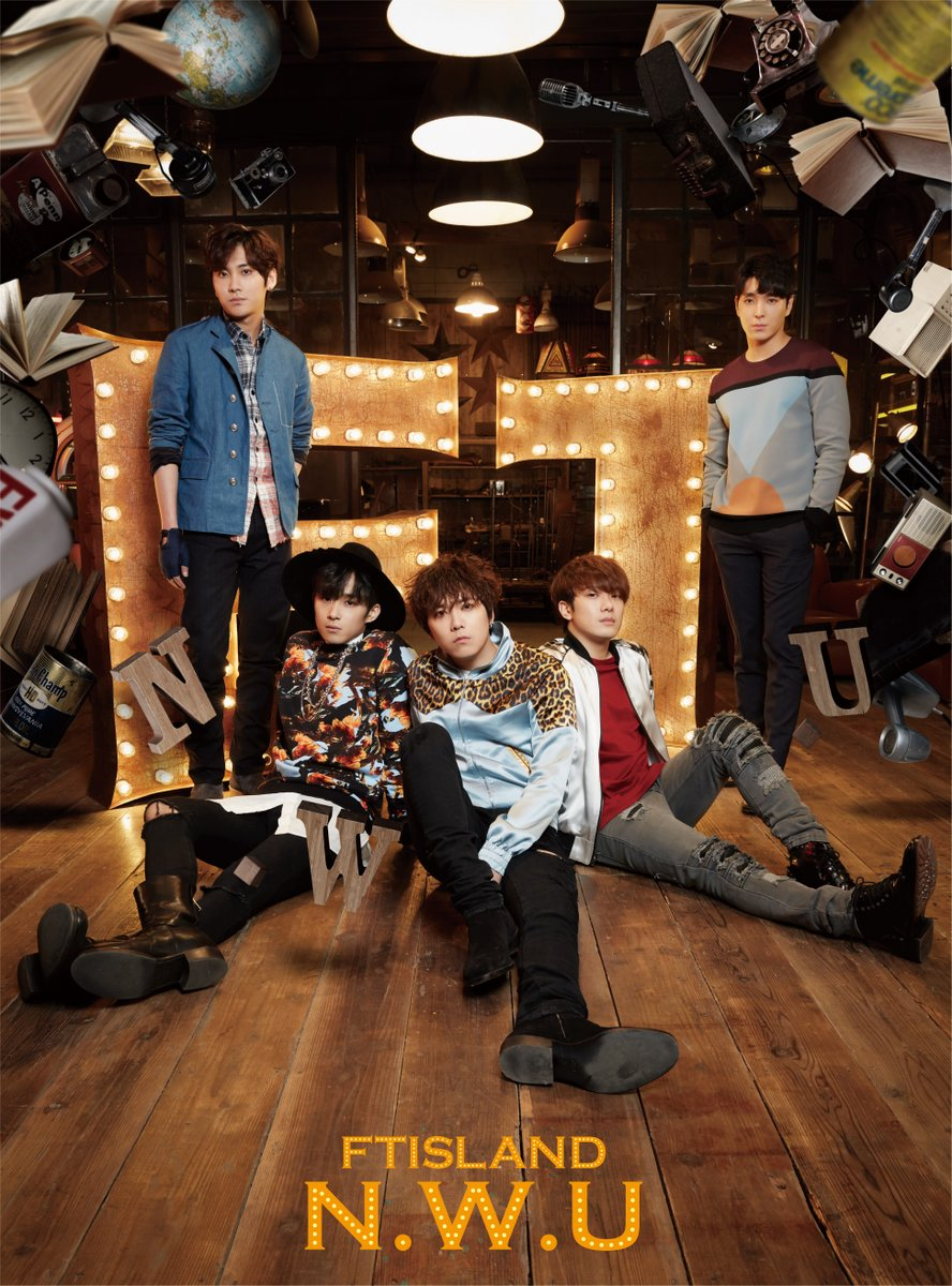 ftisland nwu album version A