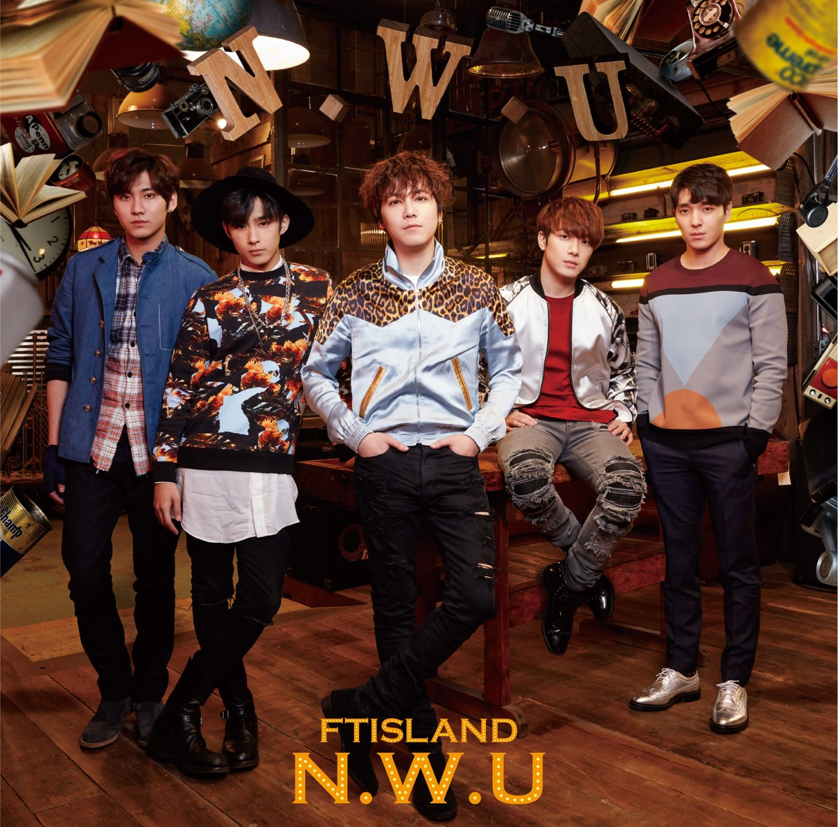 ftisland nwu album version B