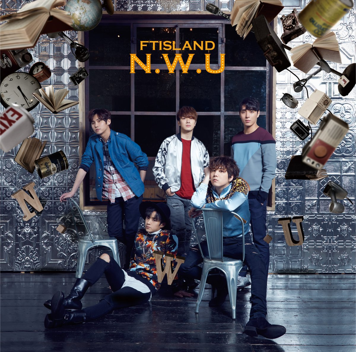 ftisland nwu album version normale