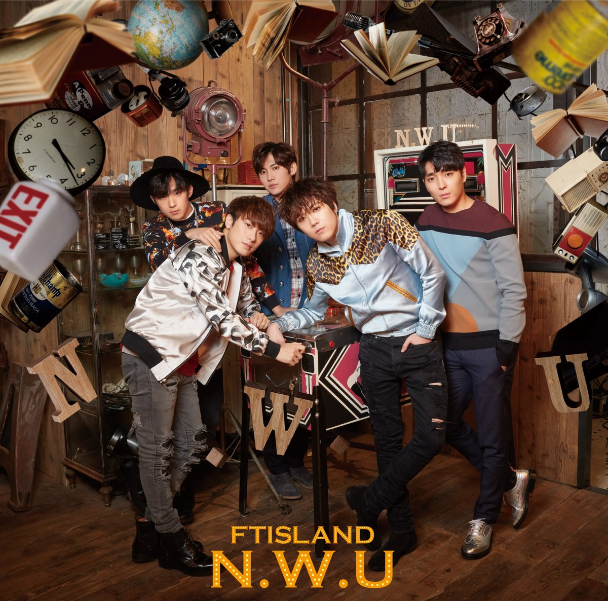ftisland nwu album version primadonna
